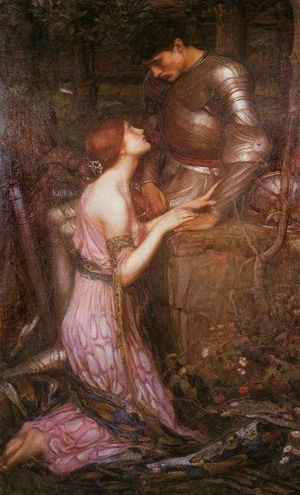 John William Waterhouse Lamia(version 1) 1905
