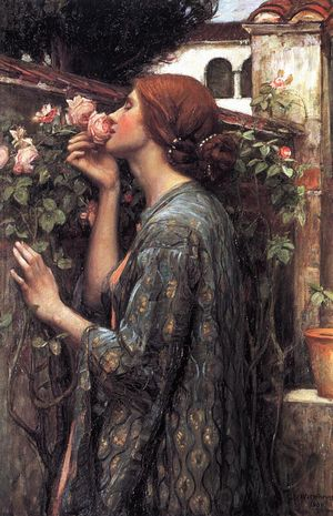John William Waterhouse - The Soul of the Rose, aka My Sweet Rose
