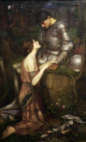 J.W. Waterhouse 「Lamia」(ラミア)  Auckland Art Gallery