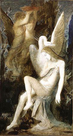 Léda c.1865 Musée Gustave Moreau