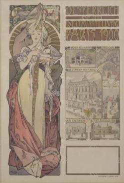 Oesterreich auf der Weltausstellung Paris 1900 by MUCHA