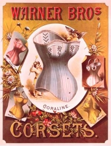 advertisment for Warner Bros. corset-1890