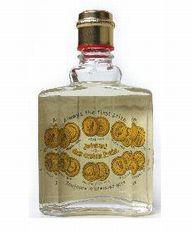 oud flesje Eau de Cologne 4711