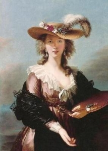 Élisabeth-Louise Vigée Le Brun Self-Portrait in a Straw Hat 1782年