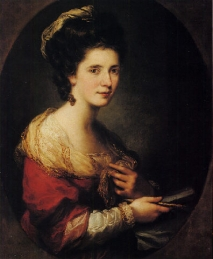 Angelica Kauffmann Self Portrait 1760s