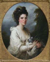 Isabella Hunter, c. 1776-1790-Kauffmann, Angelika
