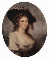 Selbstporträt, Oval 1780-1785 Angelica Kauffman St. Petersburg