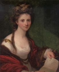 Sir Joshua Reynolds (artist) Angelica Kauffmann, R.A. Collection of George Glazer