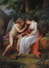 Angelica Kauffmann Amor und Psyche