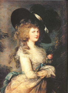 Thomas Gainsborough Lady Georgiana Cavendish
