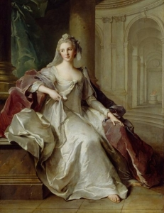 Jean Marc Nattier Madame Henriette de France as a Vestal Virgin 1749 Detroit Institute of Arts, Michigan