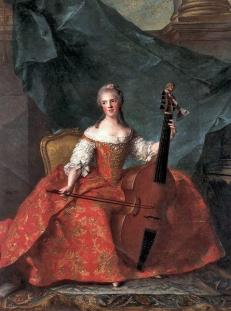 Madame Henriette de France 1754 Musée national Chateaux Versailles et de Trianon