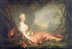 MADAME ADELAIDE EN DIANE (1732-1799) ; DITE AUTREFOIS MADAME VICTOIRE