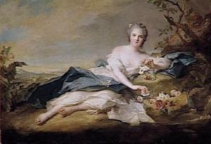 MADAME HENRIETTE (1727-1752) ; DITE AUTREFOIS LOUISE-HENRIETTE DE BOURBON, DUCHESSE DORLEANS