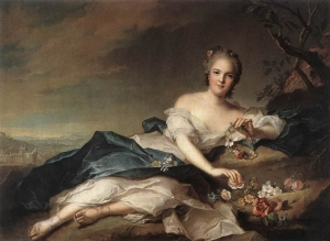 Marie Adélaïde of France as Flora