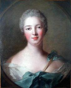 JEANNE-ANTOINETTE POISSON, MARQUISE DE POMPADOUR AS DIANA 1748