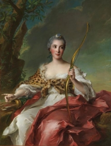 Madame de Maison-Rouge as Diana 1756