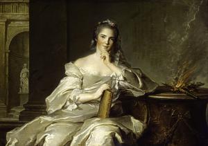 Madame Anne Henriette de France - O Fogo Museu de Arte de São Paulo, Brazil