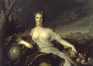 Madame Louise-Elisabeth, Duquesa de Parma (Madame I´Infante) - A Terra Museu de Arte de São Paulo, Brazil