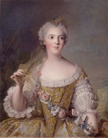 Sophie Philippine Elisabeth Justine - 1746, daughter of Louis XV by Jean-Marc Nattier