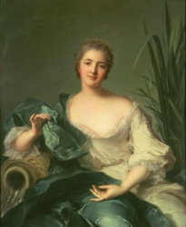 Portrait of Madame Marie-Henriette-Berthelot de Pléneuf 1739  National Museum of Western Art, Tokyo