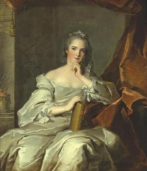 PORTRAIT OF MADAME HENRIETTE, DAUGHTER OF LOUIS XV, AS A VESTAL, REPRESENTING FIRE