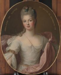 Marie Adélaïde de Savoie (1685?1712), Duchesse de Bourgogne 1710 Metropolitan Museum of Art,