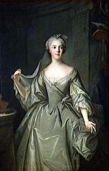 After Jean Marc Nattier  SOPHIE-PHILIPPINE-ELISABETH-JUSTINE DE FRANCE, DITE MADAME SOPHIE (1734-1782)  Versailles ; musée national des châteaux de Versailles et de Trianon