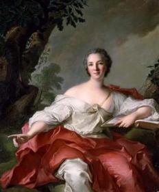 Jean-Marc Nattier Portrait of Madame Geoffrin  1738  TOKYO FUJI ARTMUSEUM
