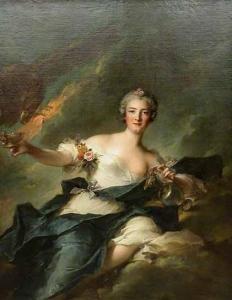 La duchesse de Chaulnes, représentée en Hébé