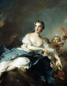 The Marquise de Vintimille as Aurora, Pauline Félicité de Mailly-Nesle (1712−1741)