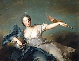 Marie-Anne de Nesle, Marquise de La Tournelle, Duchesse de Châteauroux (1717-1744) 1740 Musée national du Château et des Trianons