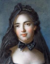 Marie Charlotte de La Tour dAuvergne - ca 1750