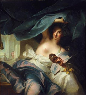Duchesse de Châteauroux as Thalia, Muse of Comedy 1739 Fine Arts Museums of San Francisco, Mildred Anna Williams Collection