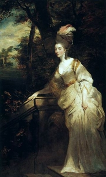 Joshua Reynolds - Georgiana, Duchess of Devonshire  Henry E. Huntington Art Gallery, San Marino, CA, USA