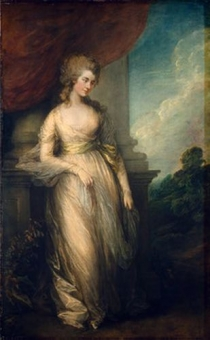 Thomas Gainsboroguh Georgiana Duchess of Devonshire 1783 National Gallery of Art, Washington, D.C