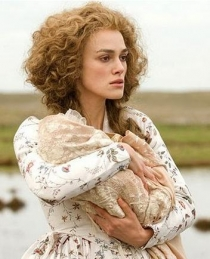 The Duchess (2008), played by Keira Knightley. The film, directed by Saul Dibb, is based on the biography Georgiana, Duchess of Devonshire by Amanda Foreman