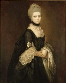 Thomas Gainsborough (1727-1788) Portrait of Maria Walpole, Countess of Waldegrave, later Duchess of Gloucester (1736-1807) ADAM WILLIAMS FINE ART Ltd