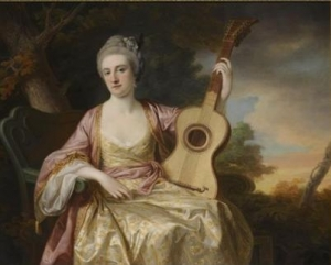 Francis Cotes  Portait of Maria Walpole, Countess Waldegrave, later Duchess of Gloucester  1765  Sothebys London Sothebys London