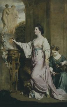 Lady Sarah Bunbury Sacrificing to the Graces, 1763?65 Art Institute of Chicago   Sir Joshua Reynolds