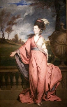 Portrait of Jane Fleming, Countess of Harrington (1755-1824), wife of Charles Stanhope, 3rd Earl of Harrington 1778 Henry E. Huntington Art Gallery