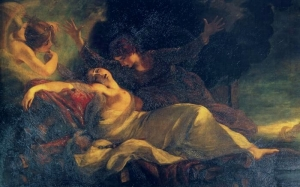 The death of Dido, 1781 Joshua Reynolds Royal Collection