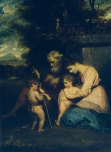 The Holy Family with the Infant St John 1788-9 Sir Joshua Reynolds Tate