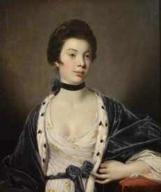 Portrait of Mrs. Charles Ogilvie  1762 Kemper Art Museum