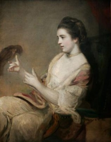 Kitty Fisher and parrot, by Joshua Reynolds  Trustees of the Bowood Collection, Bowood House, Wiltshire, England