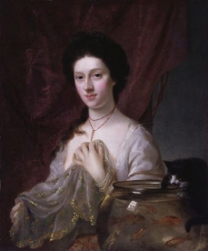 Catherine Maria (Kitty) Fisher 1765 Nathaniel Hone National Portrait Gallery, London