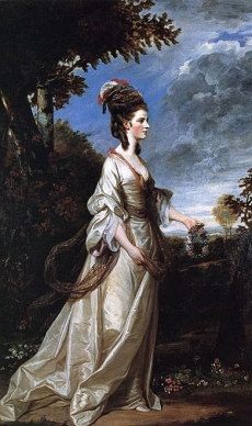 Reynolds, Sir Joshua Jane, Countess of Harrington 1775 Earl and Countess of Harewood, Harewood House, Yorkshire, UK