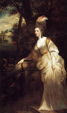 Georgiana Duchess of Devonshire 1775. Sir Joshua Reynolds Henry E. Huntington Art Gallery, San Marino, CA, USA