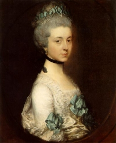 Lady Elizabeth Montagu, Duchess of Buccleuch and Queensberry  Boughton House  『Lady Elizabeth was the only daughter of George Montagu, Duke of Montagu and 4th Earl of Cardigan. This portrait was painted in Bathat about the time of her marriage in 1767 to Henry, 3rd Duke of Buccleuch. by wiki』