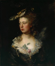 The Artists Daughter Mary  1777